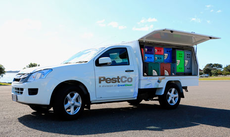 PestCo Operations Manager Rowan Washer says a long dry summer has contributed to an influx of rodents in urban areas.